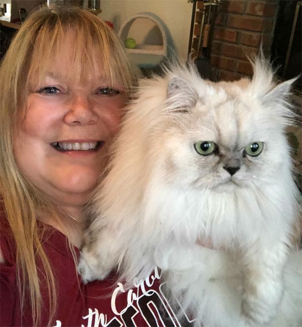 Paula Gregg (with Truffle)